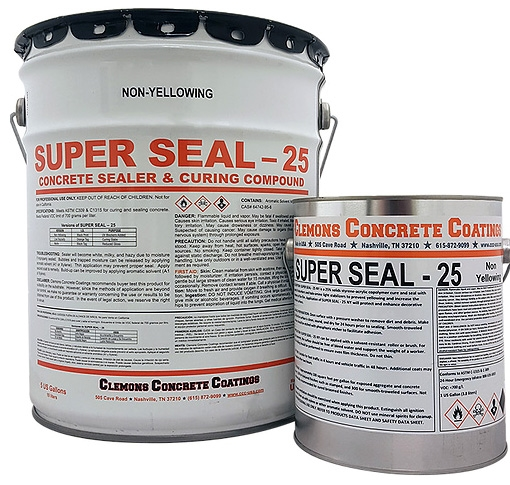Non-Yellowing, 25 Percent Styrene Acrylic Copolymer, Super Seal - Miscellaneous Concrete and Asphalt