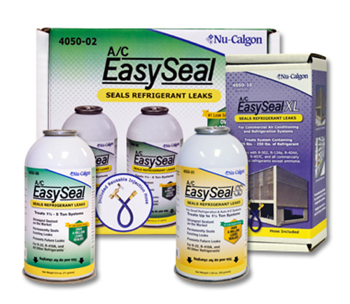 """2+1"" Colorless Refrigerant Leak Sealant Display Pack - A/C EasySeal"