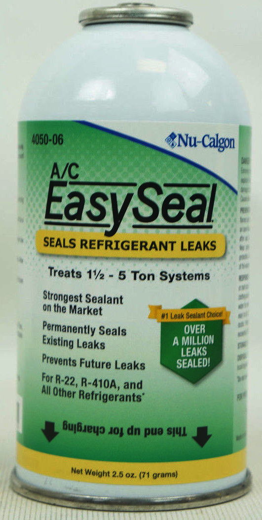 Colorless Refrigerant Leak Sealant Pressurized Can, 2.5 Oz - A/C EasySeal