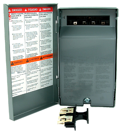 A/C Pull-out Disconnect Switches with Side Opening Door