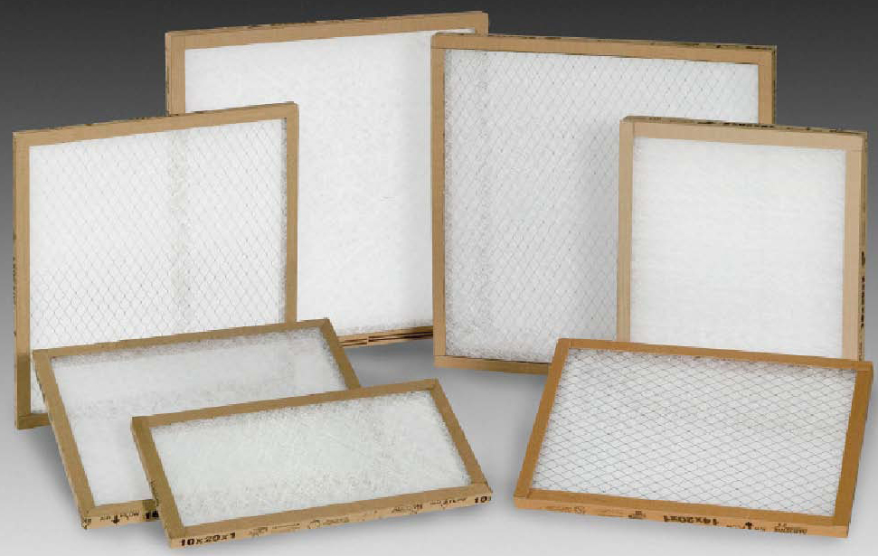 Fiberglass Throwaway Filters