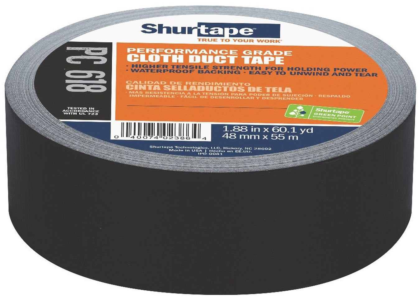 Performance Grade Cloth Duct Tape