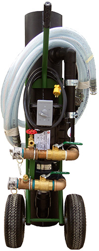 Purge Pro Geothermal Purging System, 2 HP Motor, 120 V - Purge Pro
