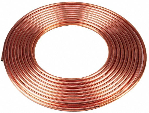 Coiled Copper Tube